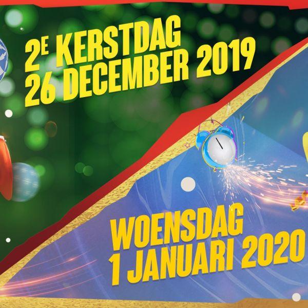Early bird | Combiticket Kerst/Oud & Nieuw | 19-20