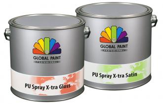 PU Spray X-tra Satin/Gloss
