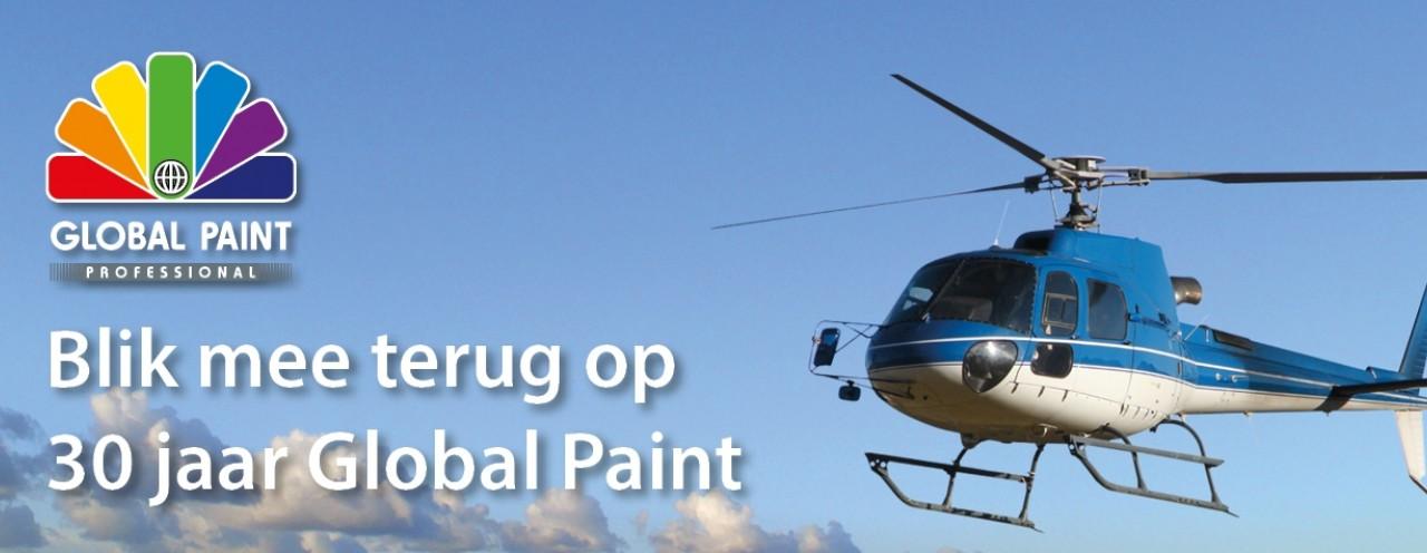 30 jaar Global Paint jubileum actie