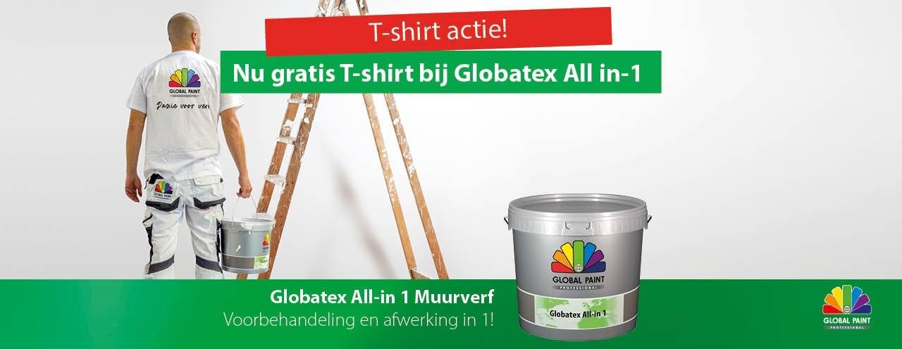 Global Paint Professional T-shirt gratis!