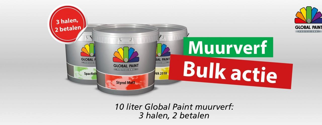3=2 muurverf bulkactie