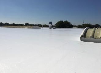 Project Silicone Roofing TG met HSH Schilderwerken