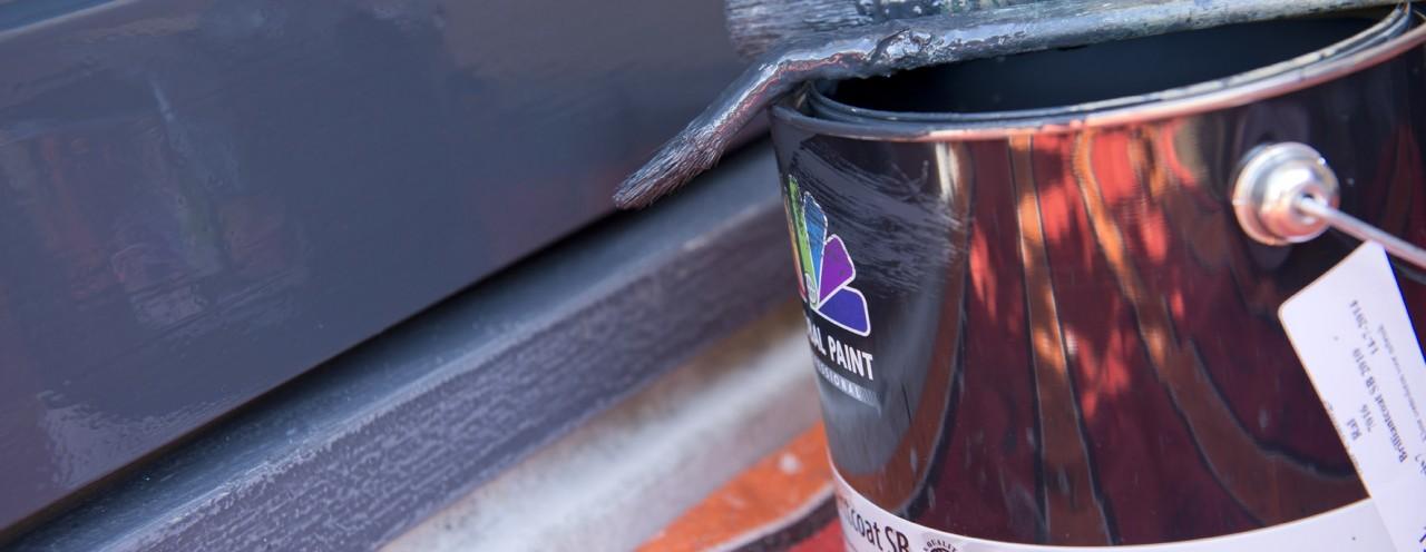 Kun je kitvoegen gewoon overschilderen?