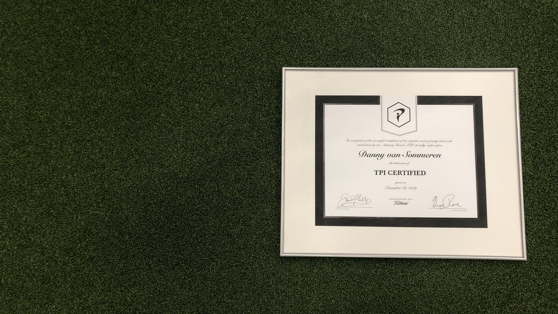 (TPI) Titleist performance institute certified