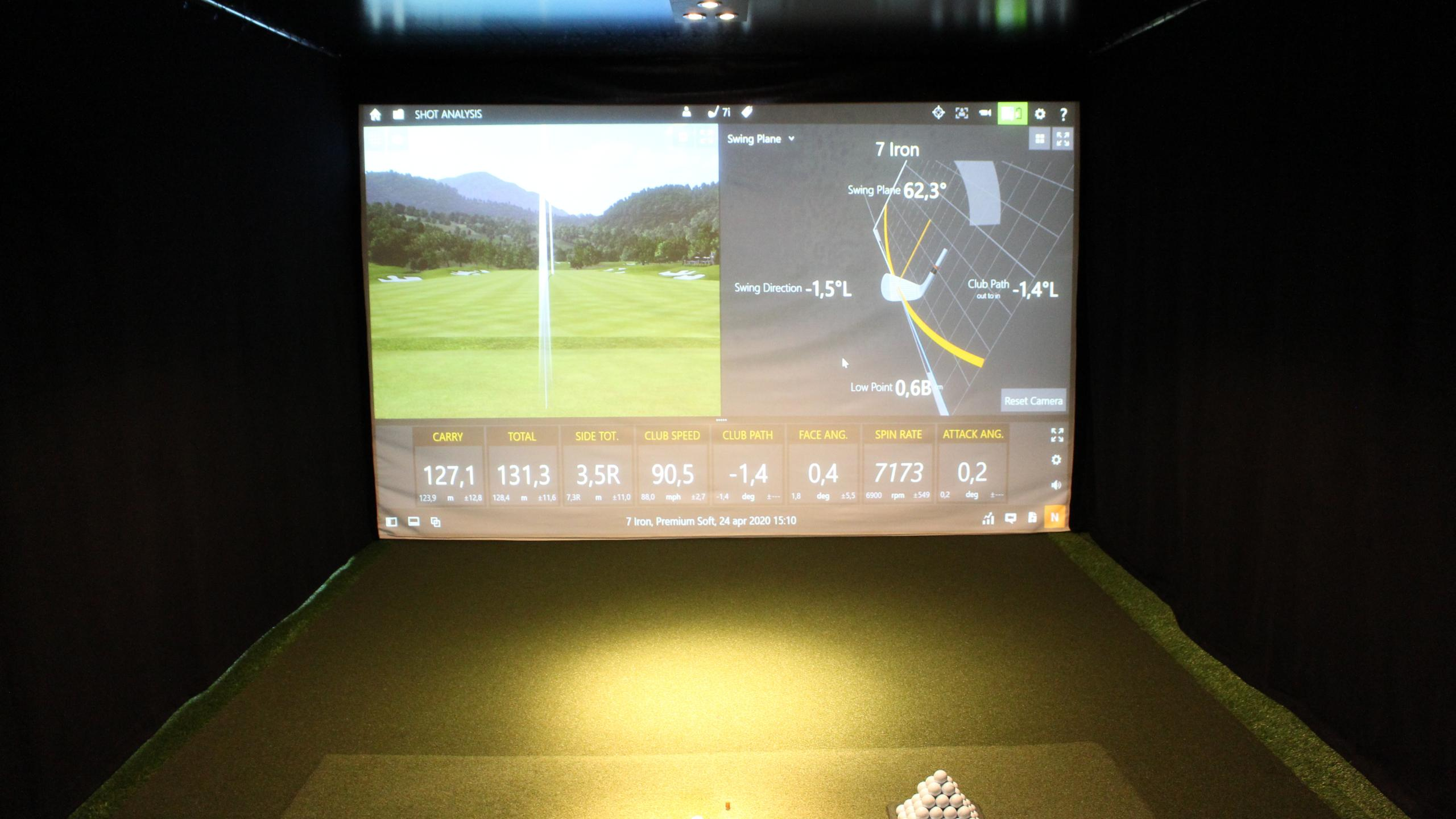 Indoor golfles