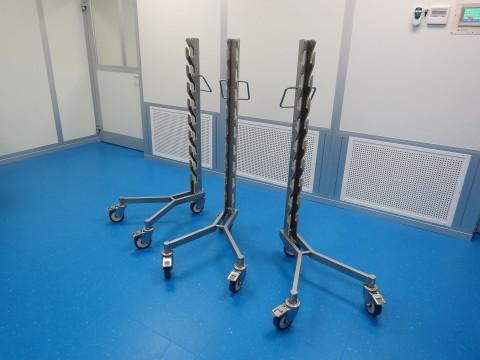 Storage trolley's