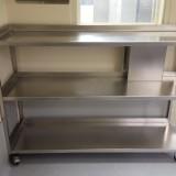 Werktafel RVS