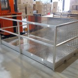 Aluminium Laadplatform