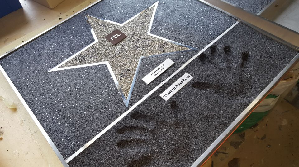 RTL 'Walk of Fame' Tegels