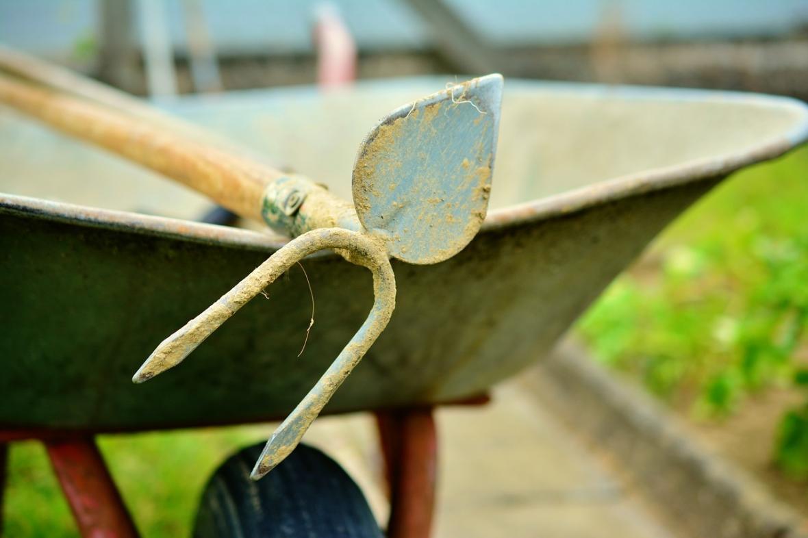 Haagse Beek verzorgt workshop 'Rijnlands schoffelen' op het 4e Praktijkfestival