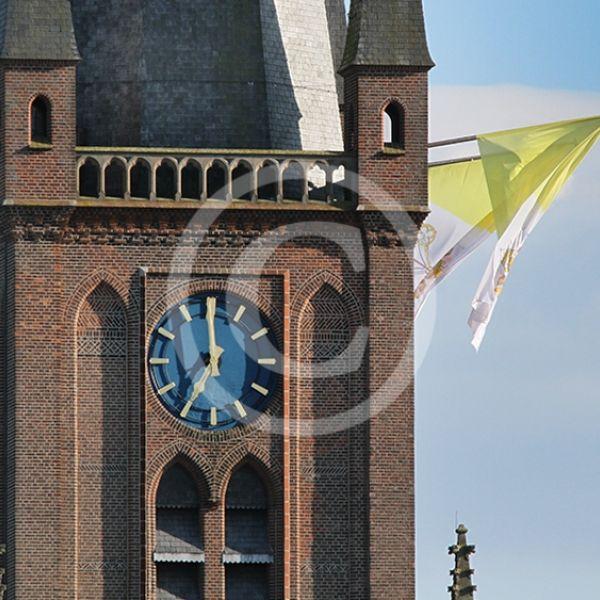 Vaticaanvlag Ewaldenkerk