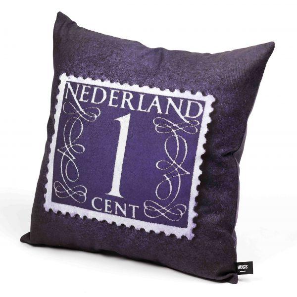 HUGS sierkussen Postzegel Nederland