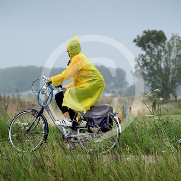 Fietsen door de regen 2