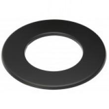 Rozet 3 cm zwart
