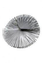 Schoorsteenborstel staal rond
