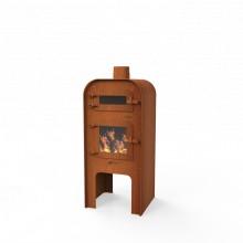 Forno GAP met deur en pizza-oven / 150 mm