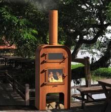 Forno GAP tuinhaard met deur en pizza oven / 200 mm