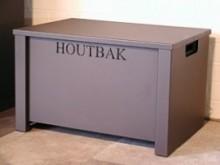 Houtbak JAnus/JAcobus groot (incl. kunststof inzetbak)