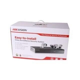 Hikvision IP camera set.