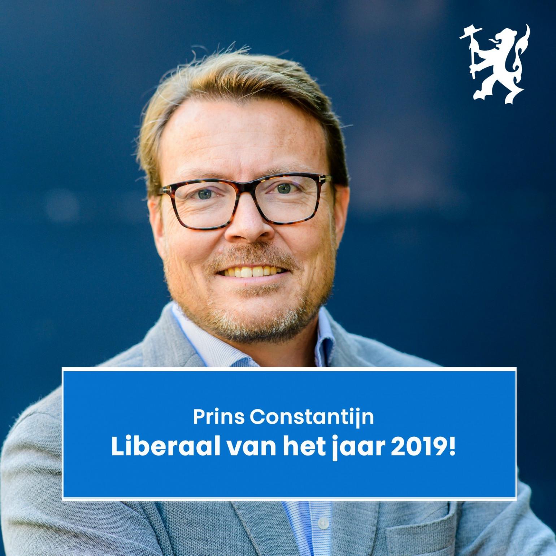 Prins Constantijn Liberaal van het Jaar