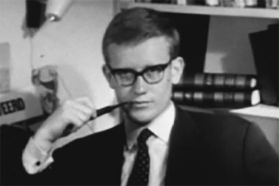 De jong en brutale Hans Wiegel