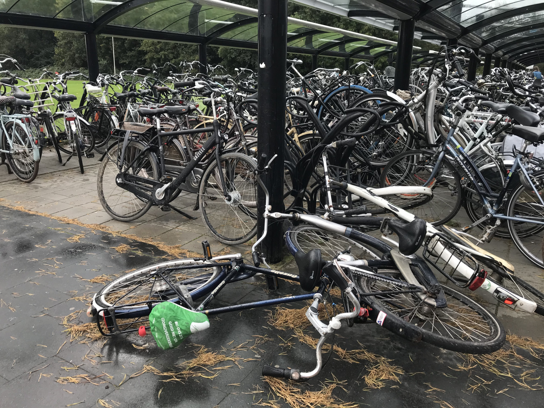 JOVD Flevoland: Fatsoenlijk je fiets kunnen stallen en je trein halen verdient de prioriteit