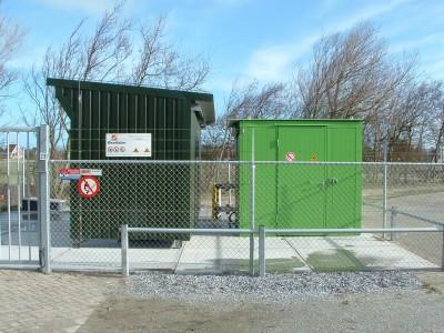 Brandwerende gasmengcontainer voor waterstof- en aardgas