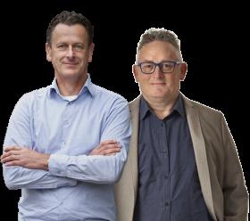 Kamiel Oosterwaal & Wayne Benoit