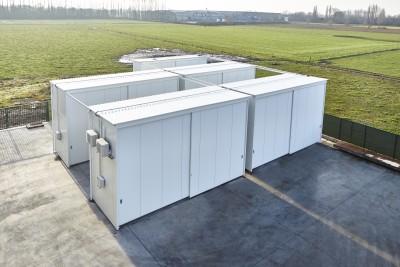 Unilin Belgie kiest voor haar nieuwe chemicaliën opslag voor de systemen van Kok Milieu