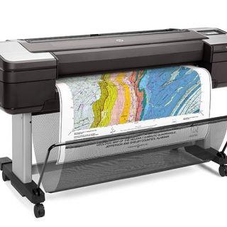 HP DesignJet T1700dr 44-in PostScript Printer, dubbele rol