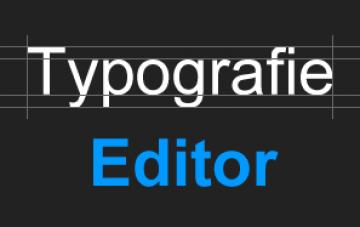 Typografie Editor
