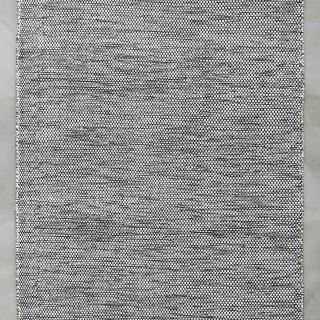 Vloerkleden Wol - Black/White 140 x 200 cm