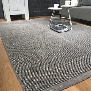 Vloerkleden wol - Grey 140 x 200 cm