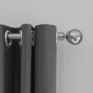 Lifa Living Gordijn 300x250 - Zilver grijs ringen