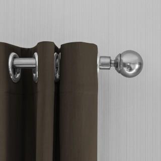 Lifa Living Gordijn 300x250 - Donker taupe ringen