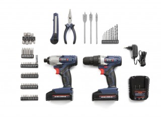 WG Impact driver tool set 72 pieces