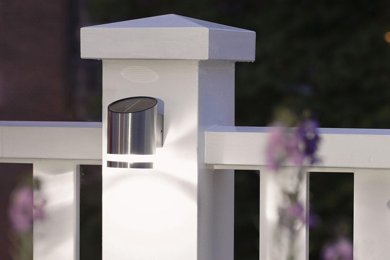 Solar Wandlamp Tuin : Utah led solar wandlamp led lovers