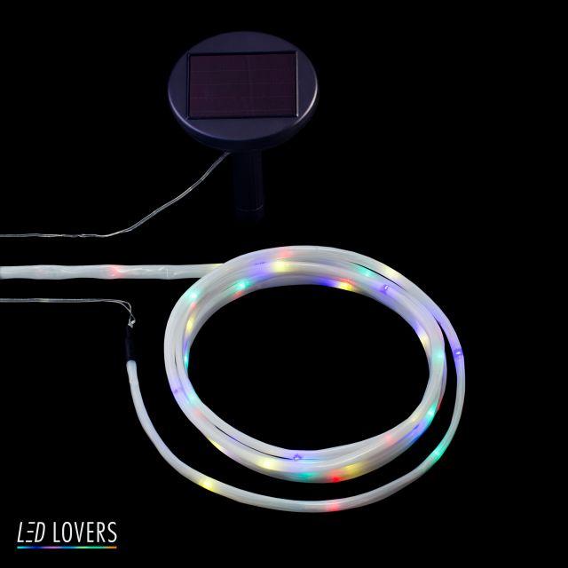 LED Solar lichtslang 50 Las Vegas YRGB