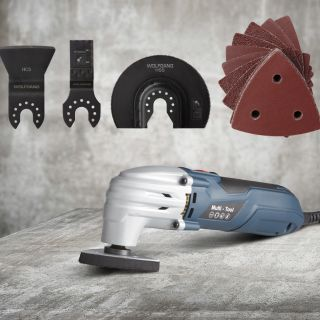 Accessoires Set 23 pieces for the Multitool from Wolfgang Germany