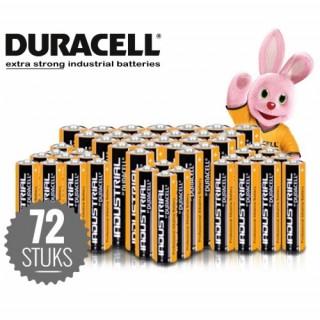 Duracell industry standard batteries