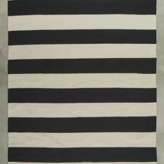 Kilim stripe black 80x150