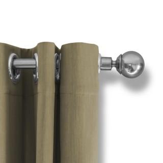 Lifa Living Gordijn 300x250 - Beige ringen