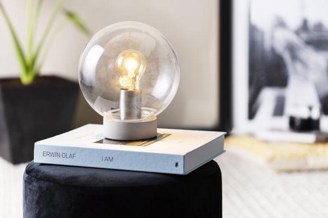 Glazen Tafellamp Albuquerque Lifa Living