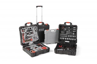 Wolfgang Hard Cover Tool Case 400 piece