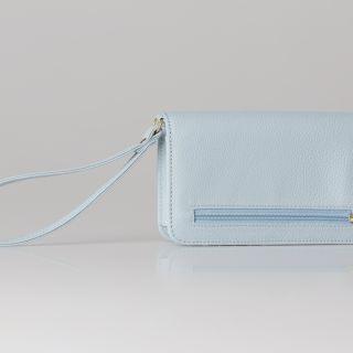 Smartphone wallet Pu Pouch met rits