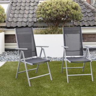 Aluminium tuinstoel