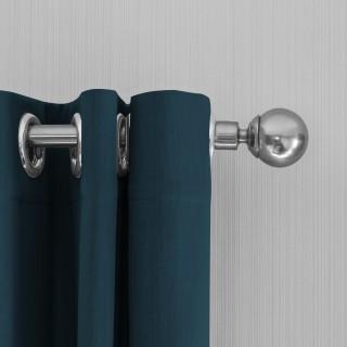 Lifa Living Gordijnen 150x250 - Teal ringen