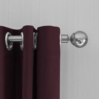 Lifa Living Gordijnen 150x250 - Wine rood ringen