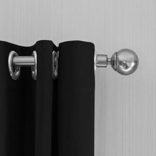 Lifa Living Gordijnen 150x250 - Zwart ringen
