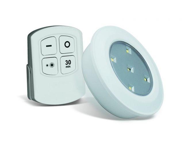 Puck light Led wireless 5 pack + Afstandsbediening